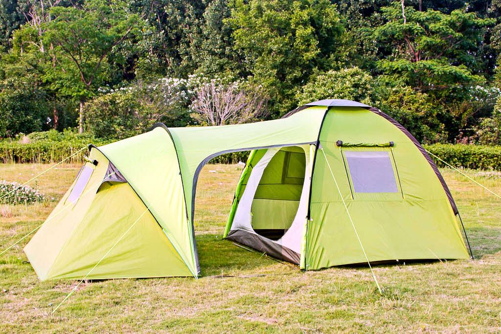 Палатка высокого качества Шестиместная Трехсезонная