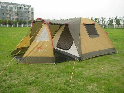 Палатка высокого качества Трехместная