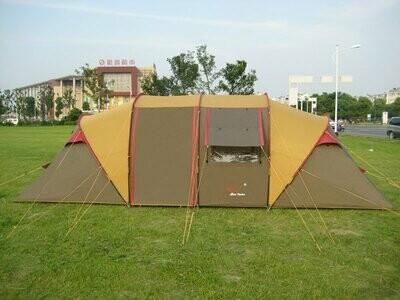 Палатка высокого качества Шестиместная с двумя комнатами