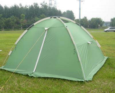Палатка туристическая трехместная из алюминиевого сплава