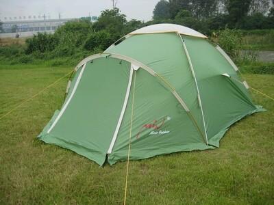Палатка туристическая четырехместная из алюминиевого сплава