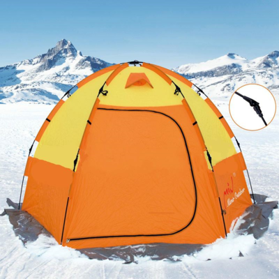 Палатка быстро-сборная двухместная для зимней рыбалки