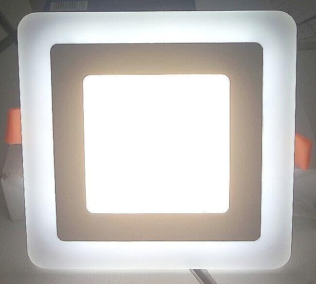 Встраиваемый светильник с подсветкой