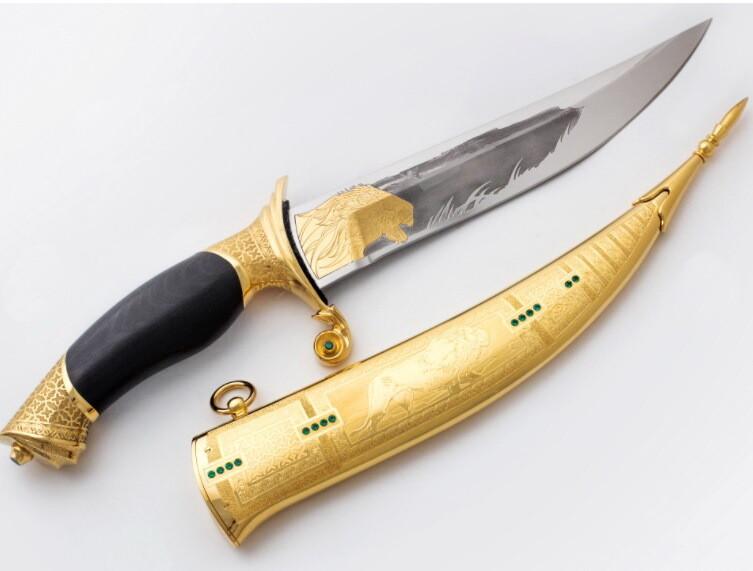 Авторский нож Восток
