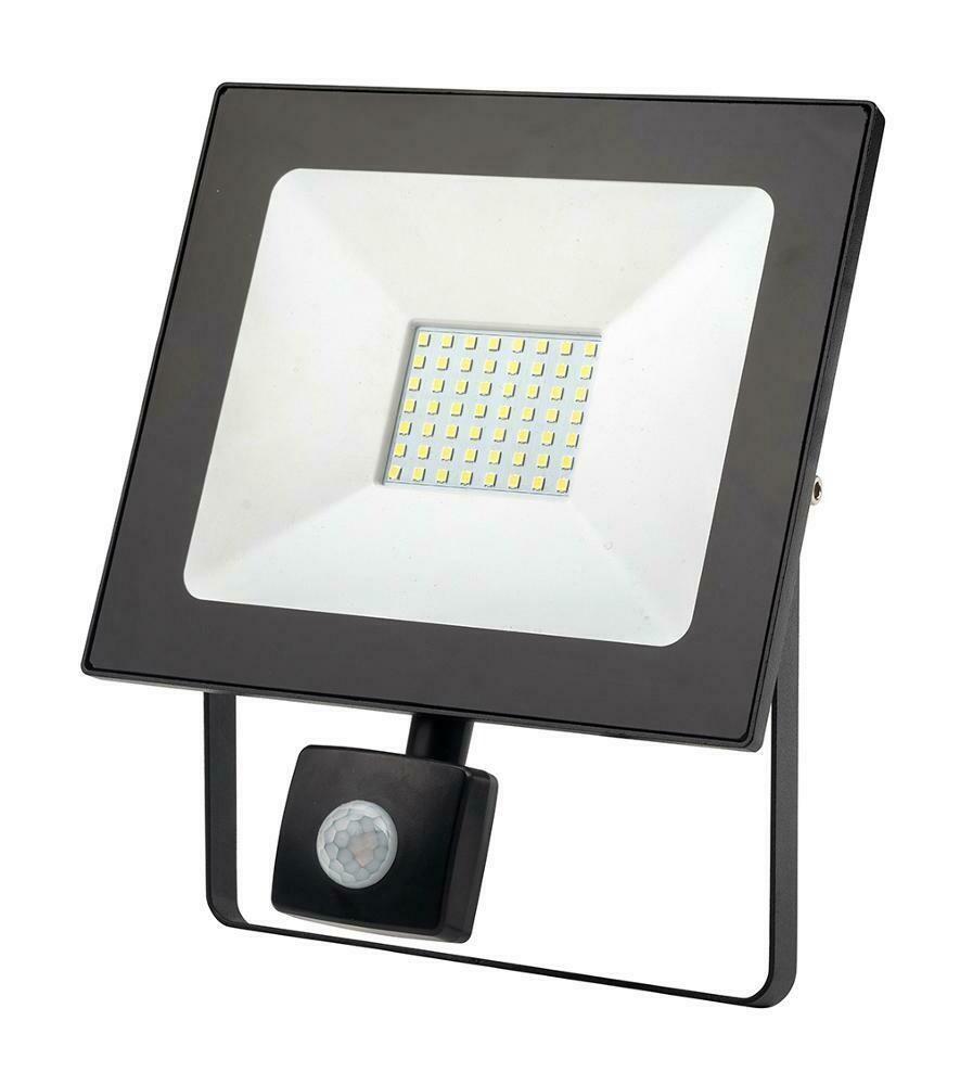 Светодиодный сетевой прожектор с датчиком движения