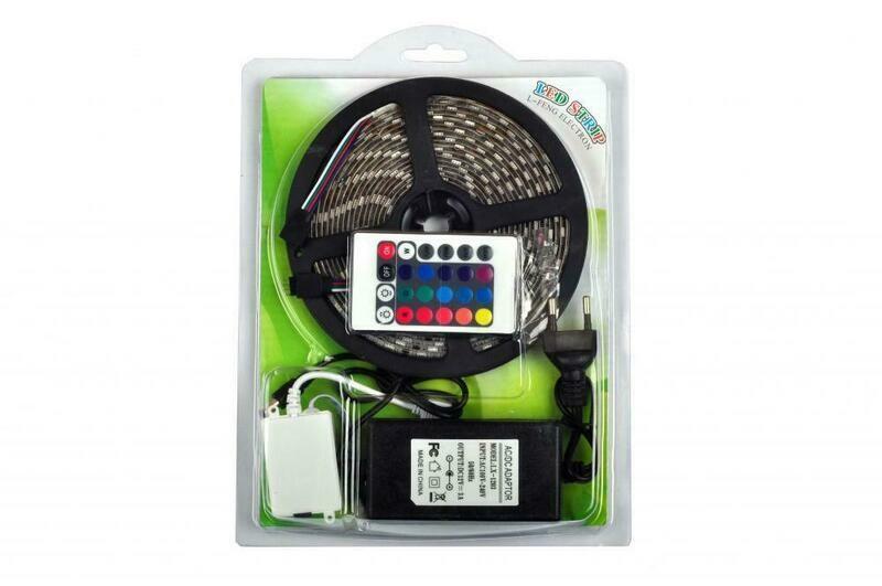 Светодиодная лента RGB комплект