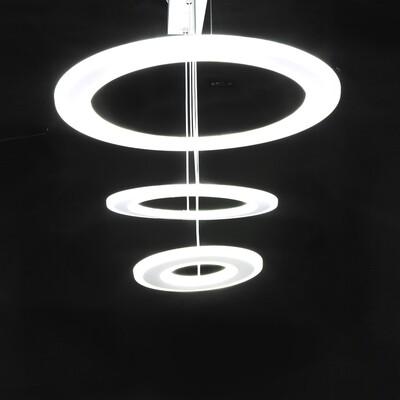 Светодиодная люстра, 1 кольцо