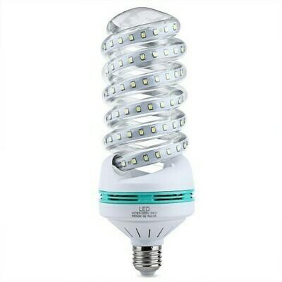 LED лампа лента-спираль с цоколем Е27