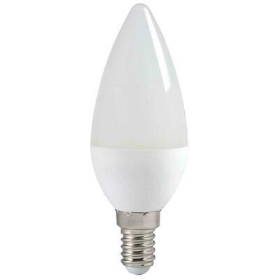 LED лампа свеча, с цоколем Е14