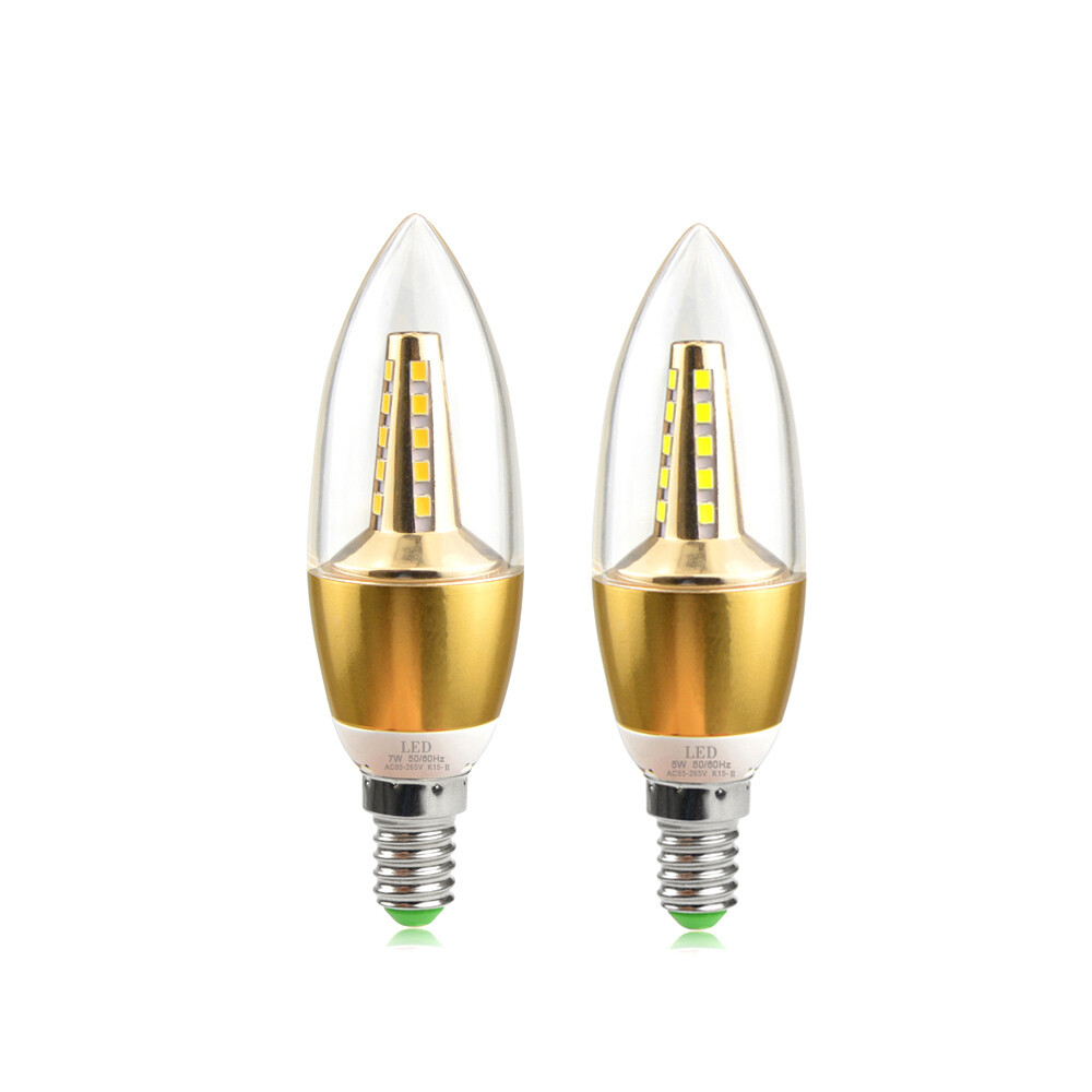 "LED светильник ""кукуруза"" с цоколем Е14"