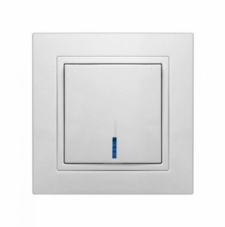 Электрический выключатель с индикацией