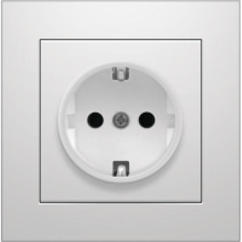 Электрическая розетка с заземлением