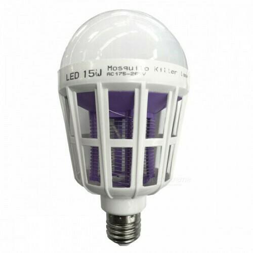LED лампа от москитов 15W