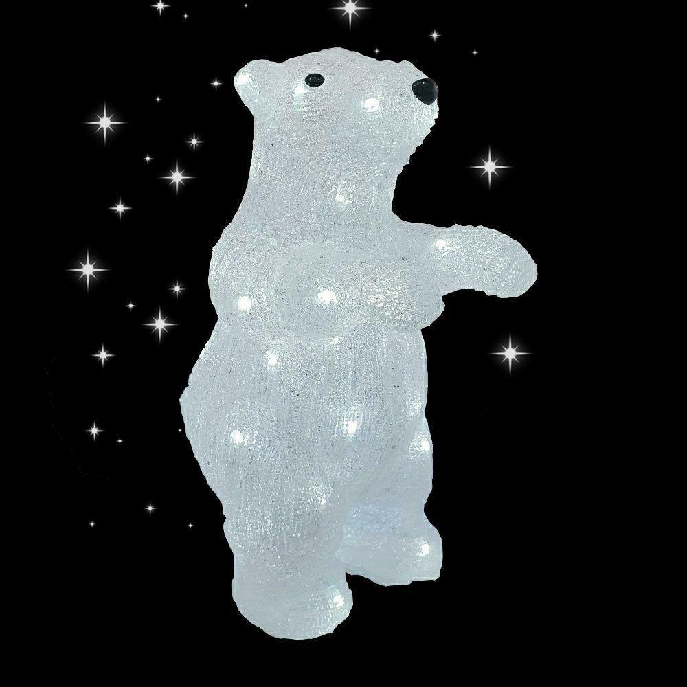 Световая LED фигура Медведь
