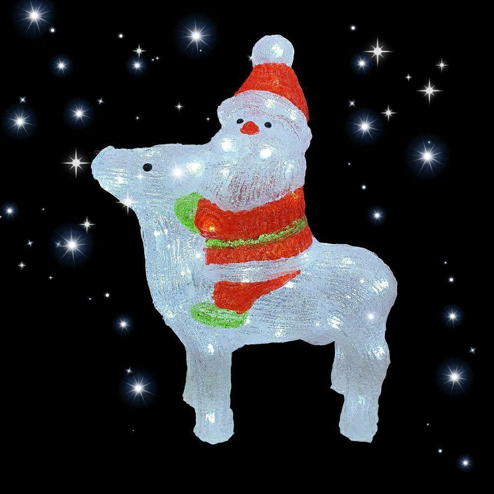 Светодиодная фигура Дед Мороз