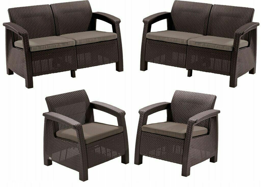 Комплект мебели из ротанга Corfu Rest