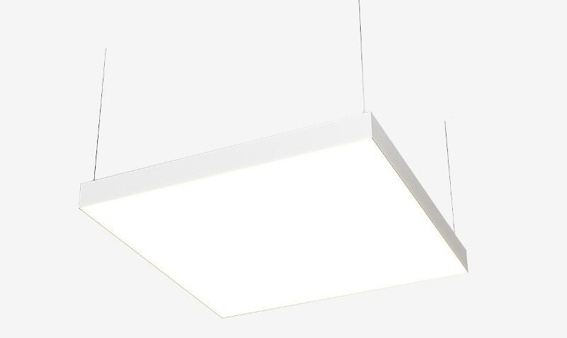 Подвесной светодиодный квадратные светильники