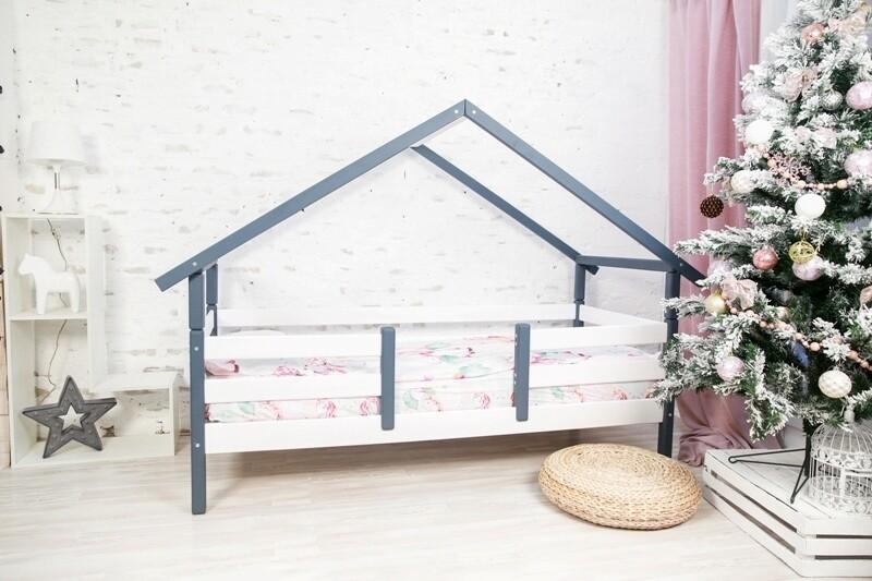 Кровать одноярусная Сонечка  со съемной крышей