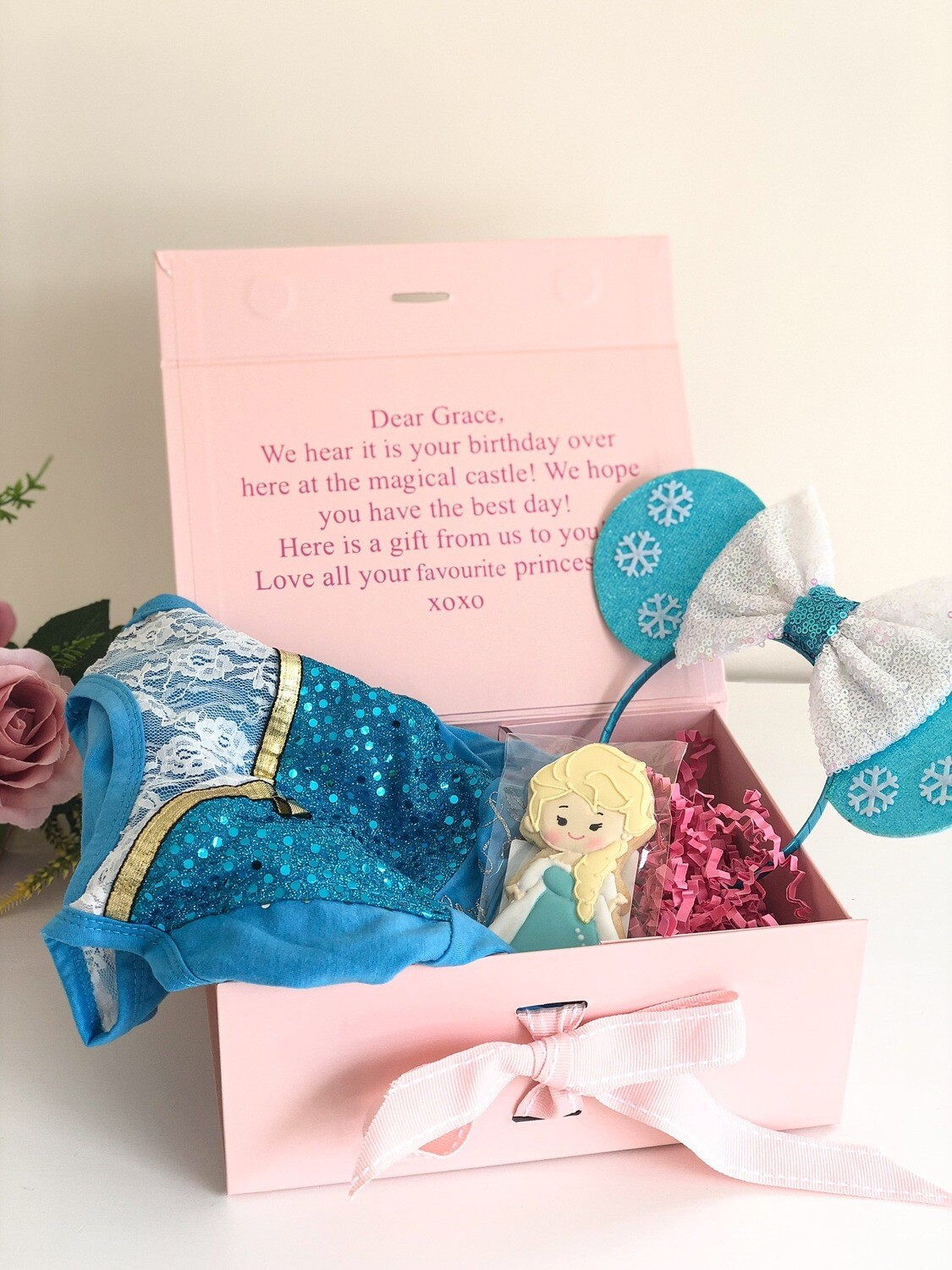 Princess box FREE PERSONALISATION
