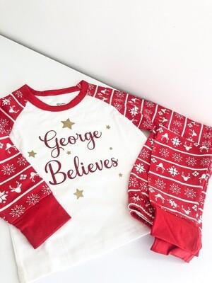 Matching Family Christmas Pyjamas (Pre Order For Christmas Dispatch)