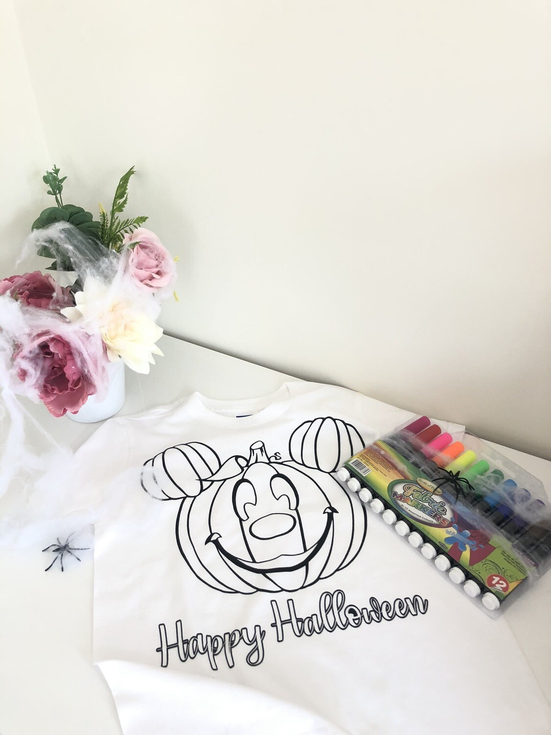 Halloween Colouring T-Shirt