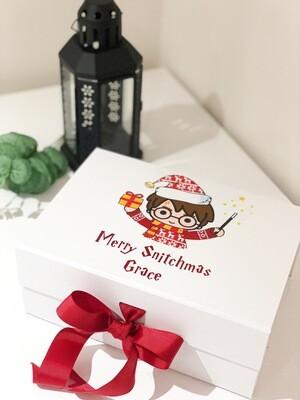 Merry Snitchmas Christmas Gift Box