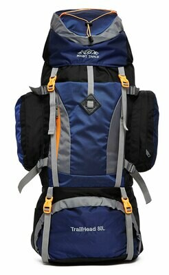 Mount Track Trailhead 80 Ltrs Rucksack, Trekking & Hiking Backpack