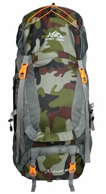Mount Track X-Trail Hiking Rucksack 90 litres with Front Opening & Rain Cover