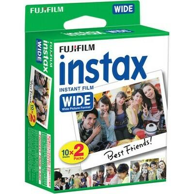 Fujifilm Instax Wide Instant Color Print Film - 20 prints