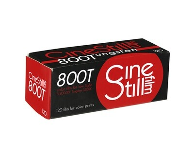 CineStill 800 Tungsten Xpro C-41 format 120 expired 03/2022