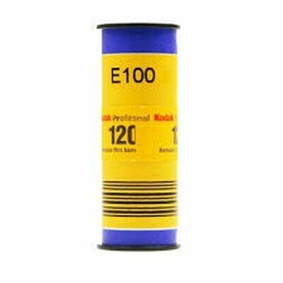 Kodak Professional Ektachrome E100 Color Transparency Film Format 120 - 1 Rollfilm date 04/2022