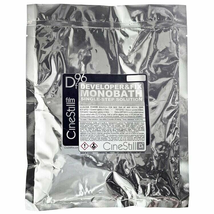 Cinestill DF96 Monobath for Black & White Film (Powder, to Make 1L)