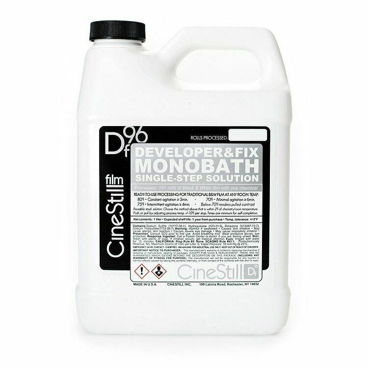 Cinestill DF96 B&W Developer Fix Monobath Single-Step Solution Powder for 16 films