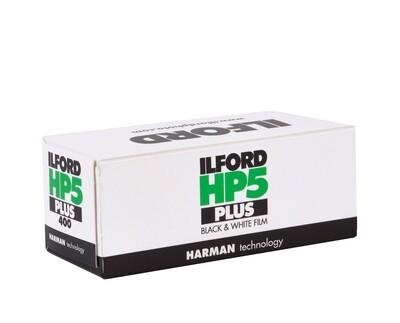 Ilford HP5 Plus 120 Black & White Negative (Print) Film (ISO-400) expired 03/2023