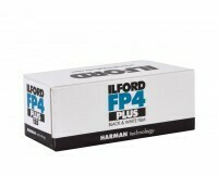 Ilford FP4 Plus Black and White Negative Film (120 Roll Film) expired 11/2021