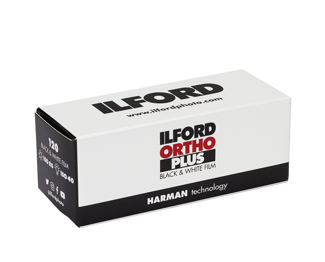 ILFORD Ortho 80 Plus 120 Rollfilm MHD 10/2022