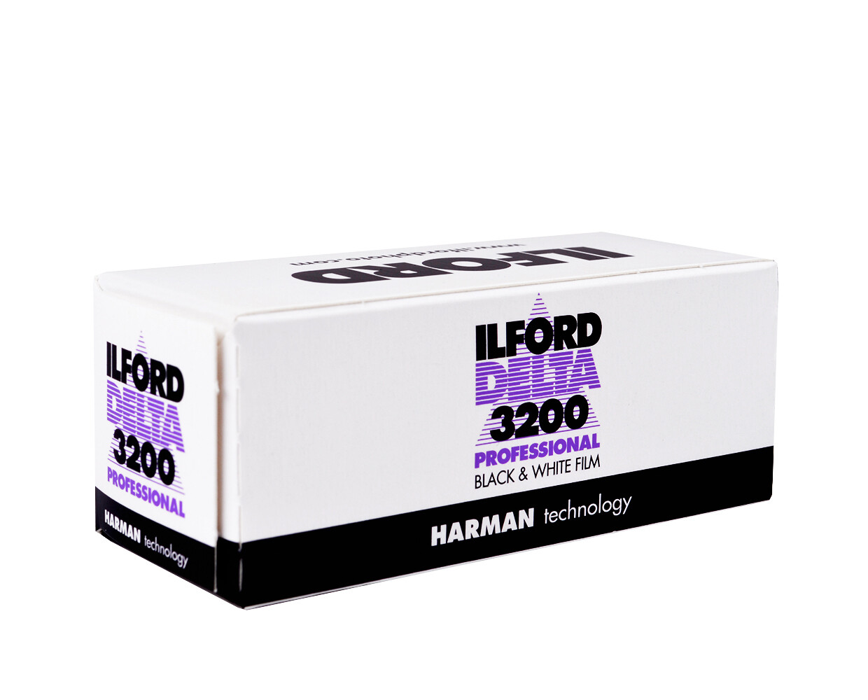 lford Delta 3200 Professional Black and White Negative Film (120 Roll Film) expired 02/2022