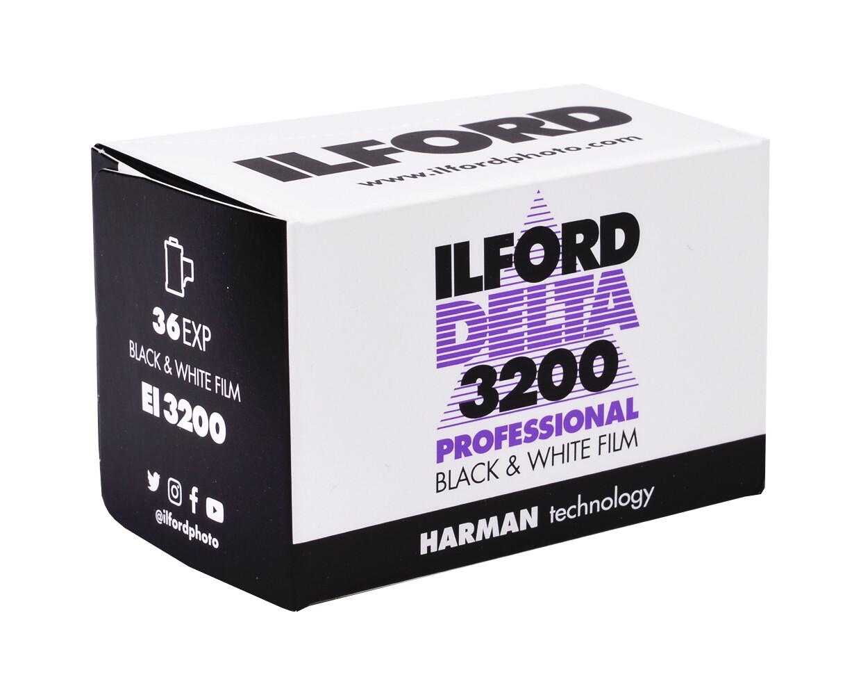 ILFORD Delta 3200, 135-36 MHD 08/2023