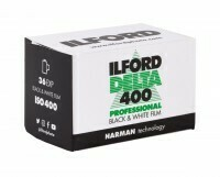 Ilford Delta-400 Professional 135-36 Black & White Print Film (ISO-400)  expired 09/2021