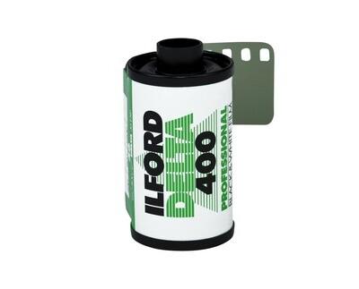 Ilford Delta-400 Professional 135-24 Black & White Print Film (ISO-400) expired 09/2021
