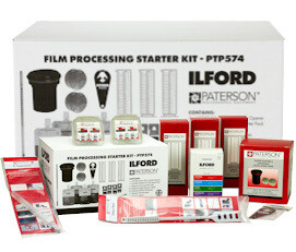 ILFORD Simplicity Film Starter Pack with change bag 40x43cm (PTP574U-)