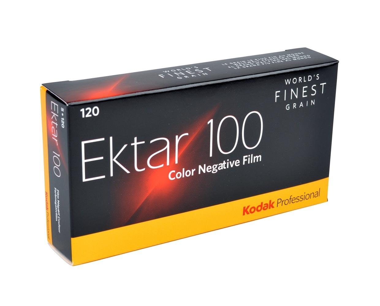 Kodak EKTAR 100 Professional - 120 Rollfilm 5-Pack MHD 07/2020