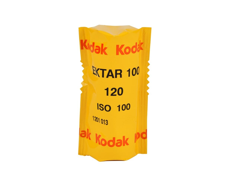 Kodak Ektar 100 Color Negative (Print) Film - format 120  expired 04/2022