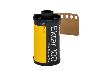 Kodak 135-36 35mm Ektar 100 Color Negative Film (36 Exposure) expired 03/2023