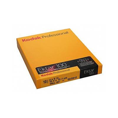 Kodak EKTAR 100 Professional - 4x5 Inch 10 sheets expired 08/2021