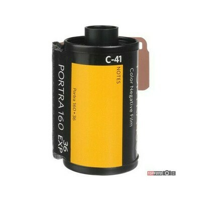 Kodak 35mm Professional Portra Color Film (ISO 160) expired 08/2021