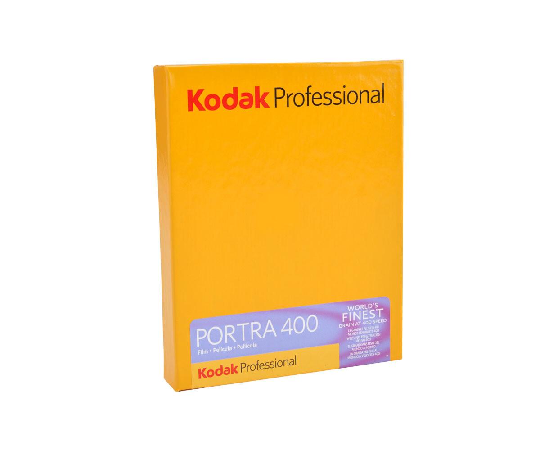 KODAK Portra 400, 4X5 Inch 10 sheets expired 03/2022