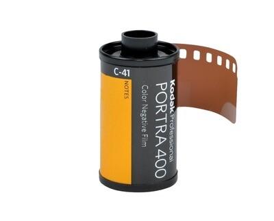 Kodak 35mm Professional Portra 400 Color Negative Film date 09/2022