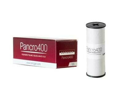 Bergger Pancro 400 - format 120 Rollfilm MHD 12/2021