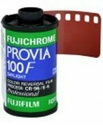 FUJIFILM Fujichrome Provia 100F Professional RDP-III Color Transparency Film (35mm Roll Film, 36 Exposures) with development of a 35mm slide film, including framing of the slides